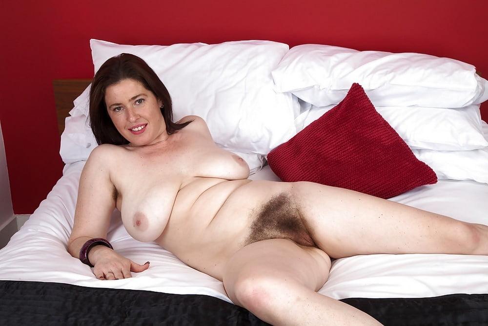 British Hairy Mature Woman