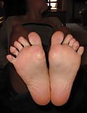 Young soles ready for footjob