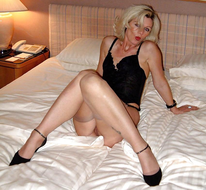 Sexy wife stockings