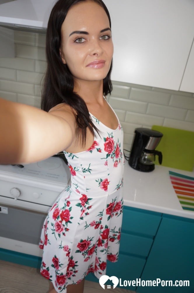 Beauty from the office gets her selfies - 24 Pics