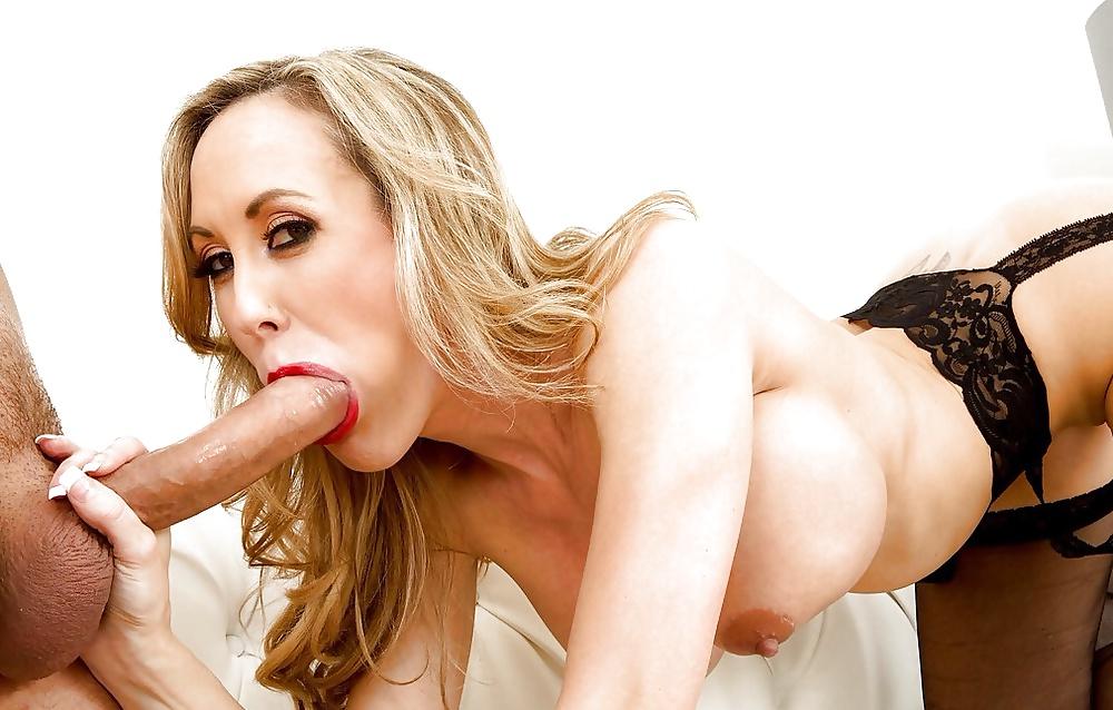 Brandi belle threesome blowjob