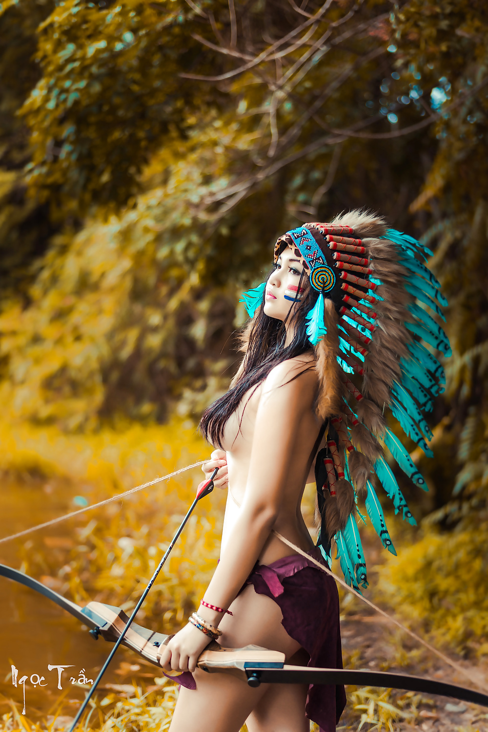 Hottest nude native girls 2