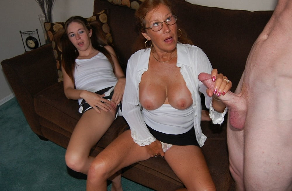 Real mother handjobs slutload