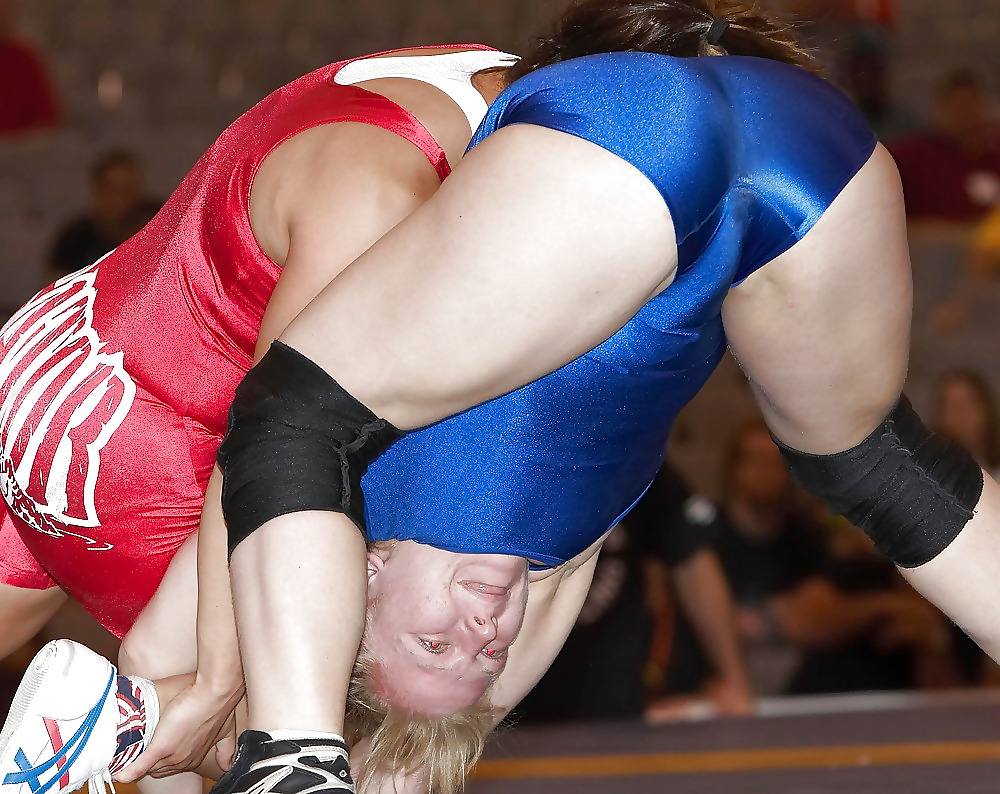 Women wrestling upskirt nipple slip video