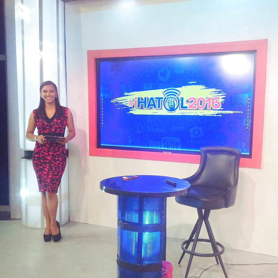 Anchor woman roughed up while on the air - 2 part 10
