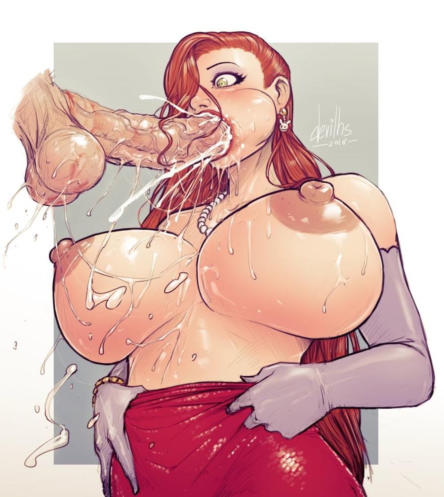 Mega boobs cartoons