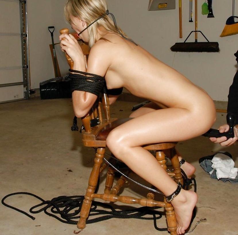Extreme chair bondage