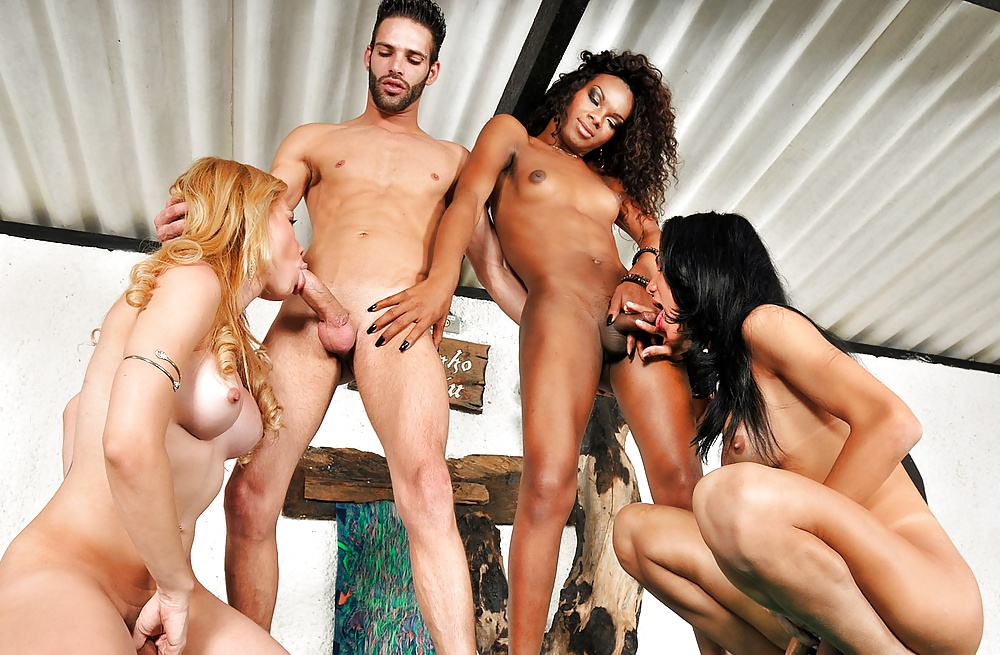 Group sex shemale galery images and group sex tranny porn