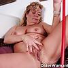53 year old granny Karen from OlderWomanFun