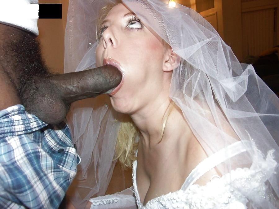Невесты порно фото с неграми #4