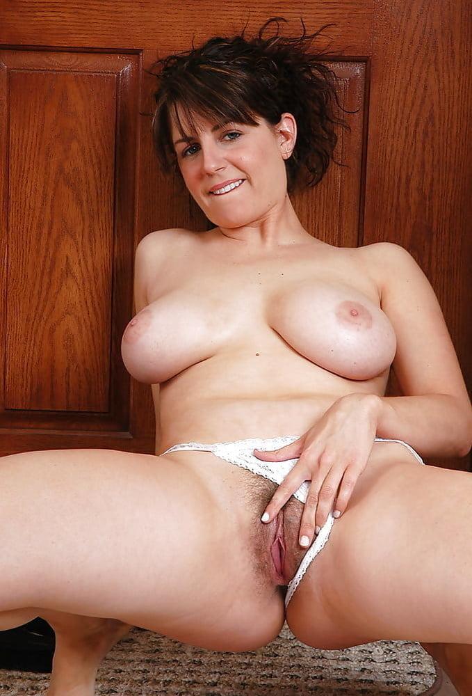 Panties pulled aside