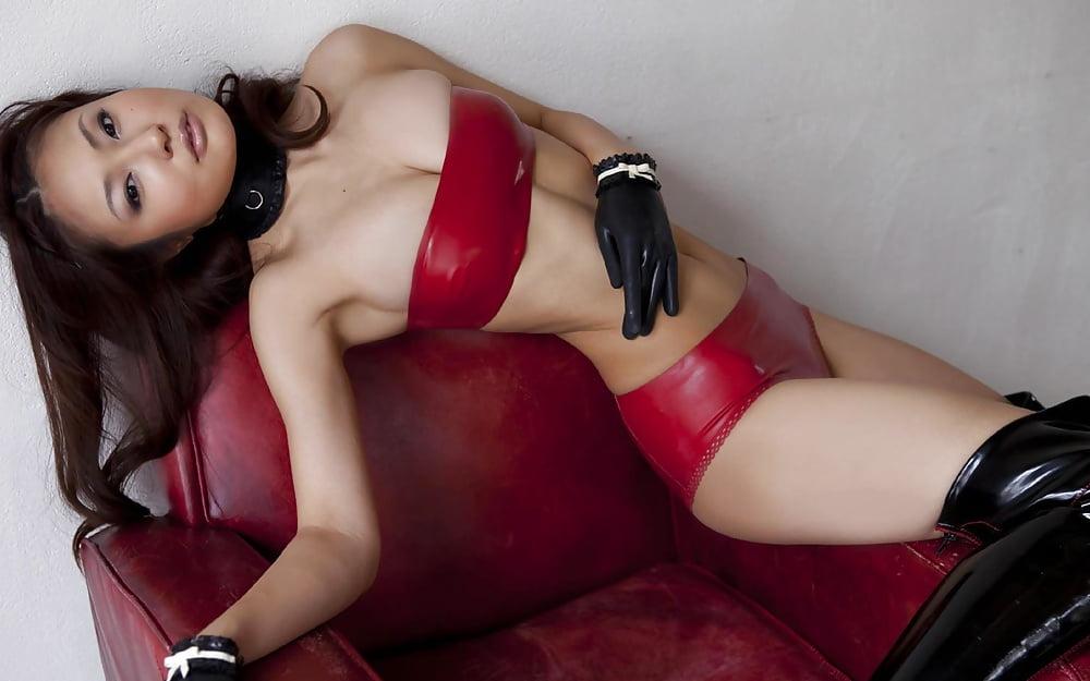 Leather asian xxx