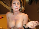 Moms takes and swallow cum 35