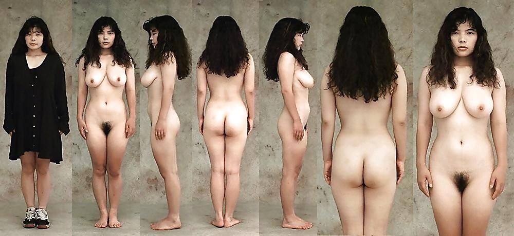 Naked day asian female