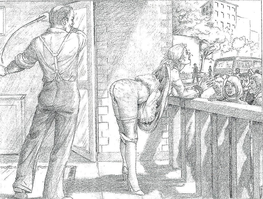 Рисунки бдсм порка