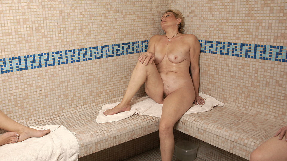 Sauna shower voyeur mixed naked