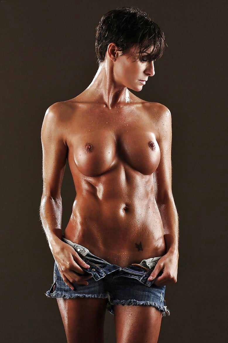 Hot fitness model nude