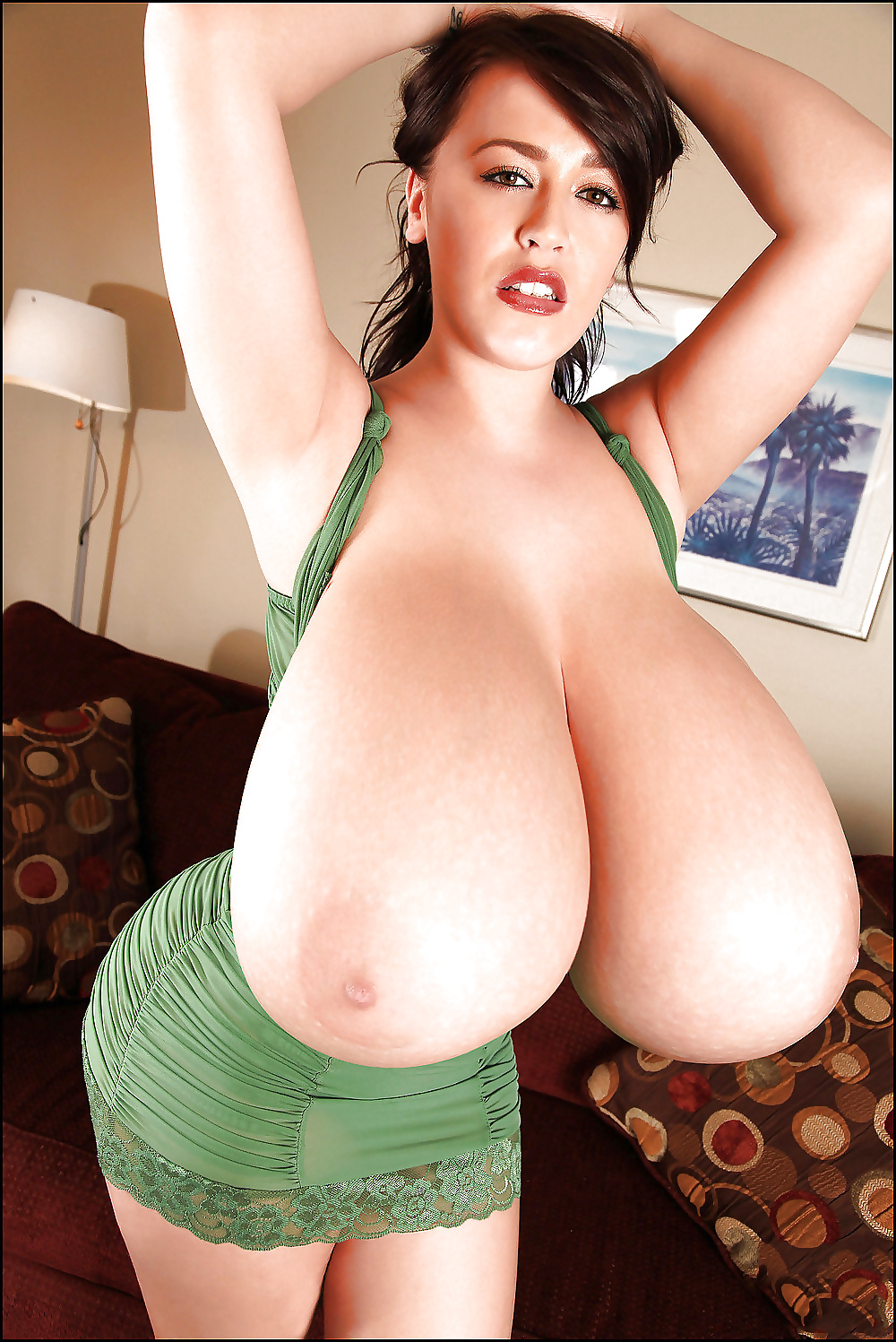 Naked women with mega huge tits