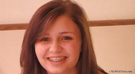 Brittany - 18yr old, interracial, braces