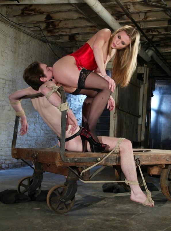 Ass licker slave femdom 10