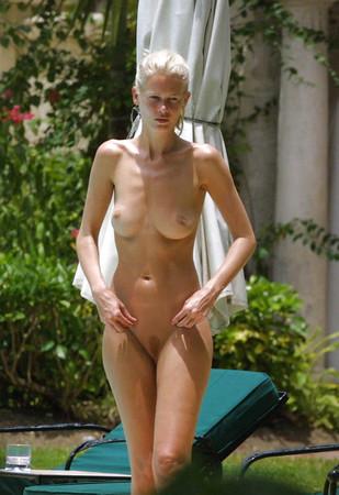 beach Celebrities nude on