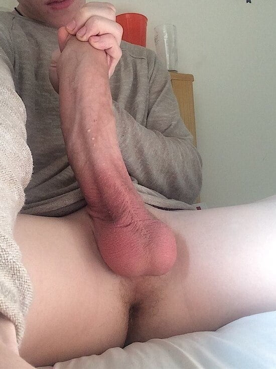 Twink Stroking Monster Cock