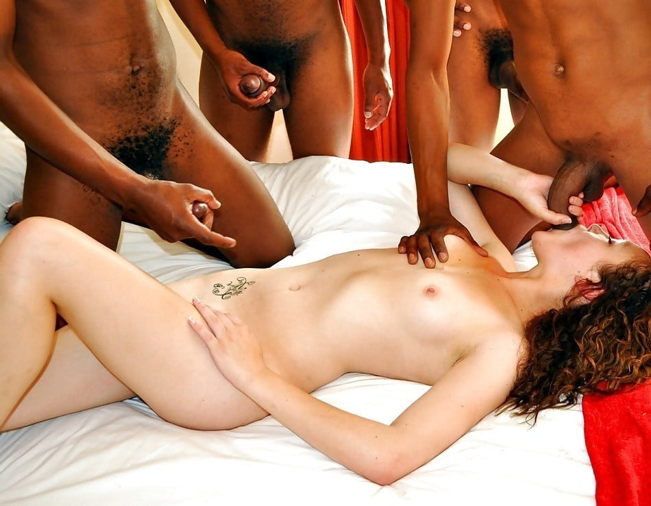 Skin barely legal interracial nude