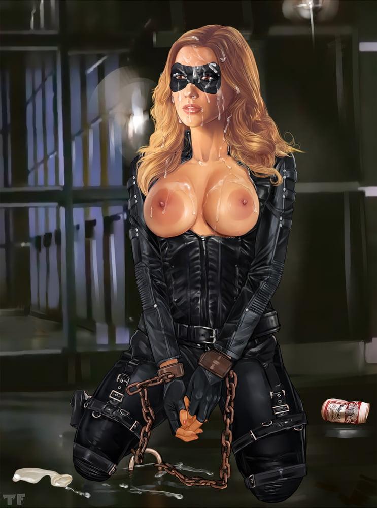 Canary porno black Black Canary