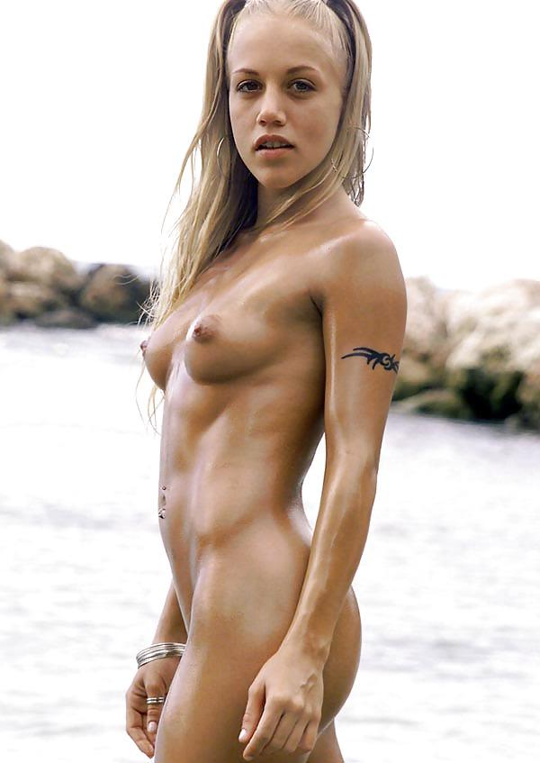 Athletic asian naked