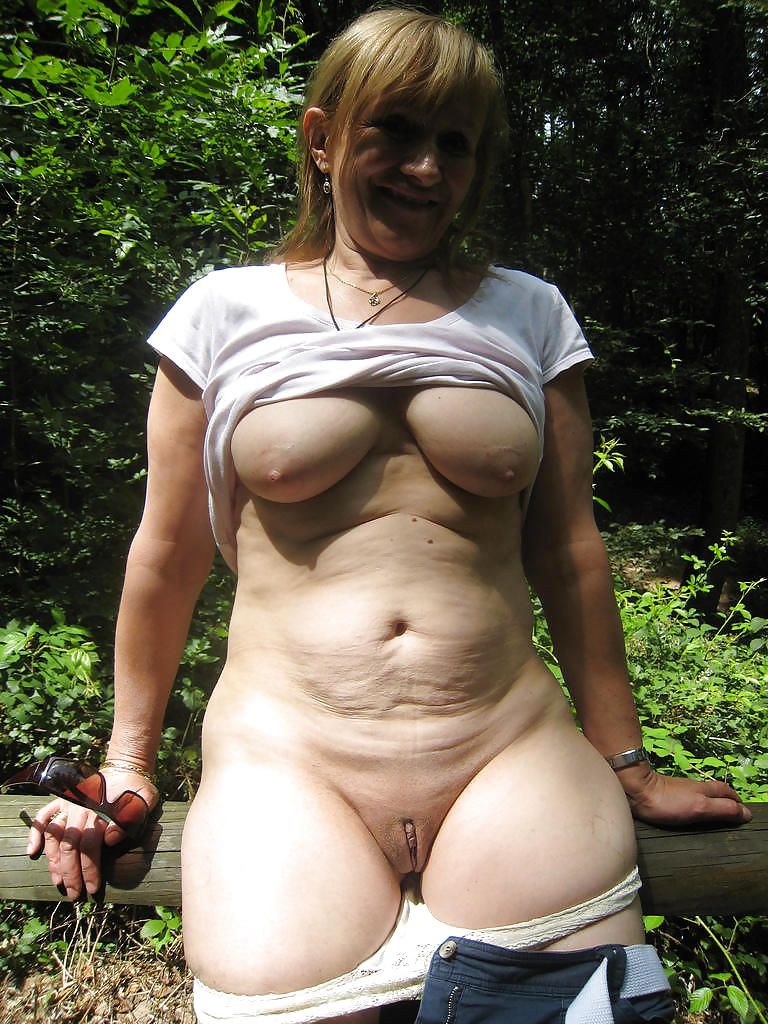 Mature Old Granny Amateur Hairy Panties-6047