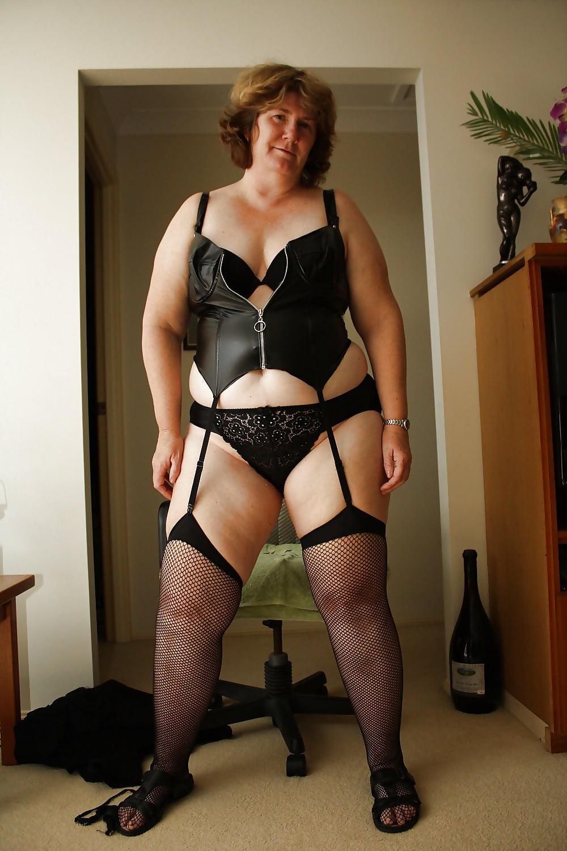Pretty caucasian chubby woman plus size stock photo