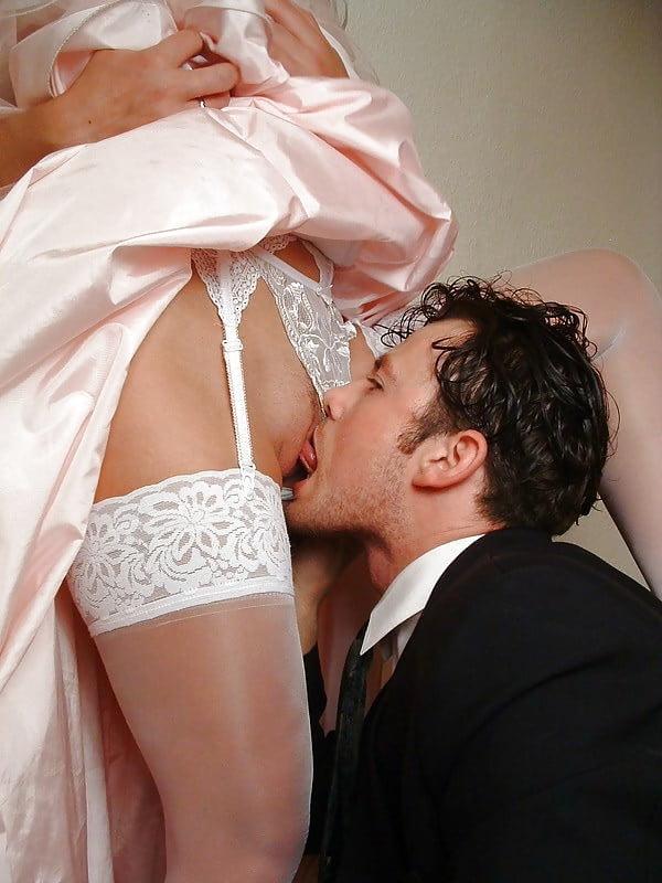 красивый кунилингус невесте - 3