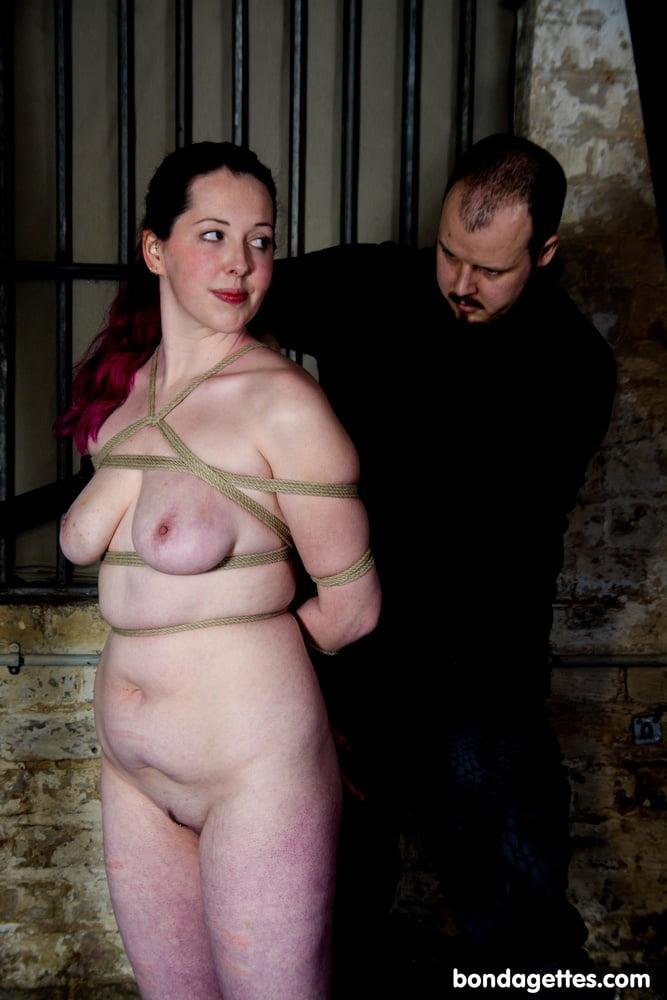 Natural Babe Bound at Bondagettes.com - 12 Pics