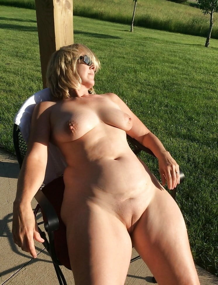 Almost naked mature and granny