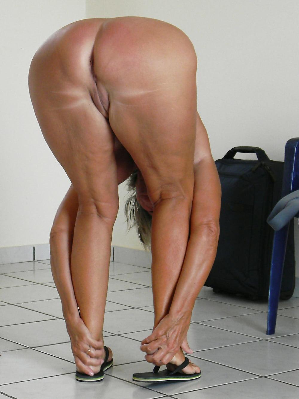 Old Big Ass Nudist