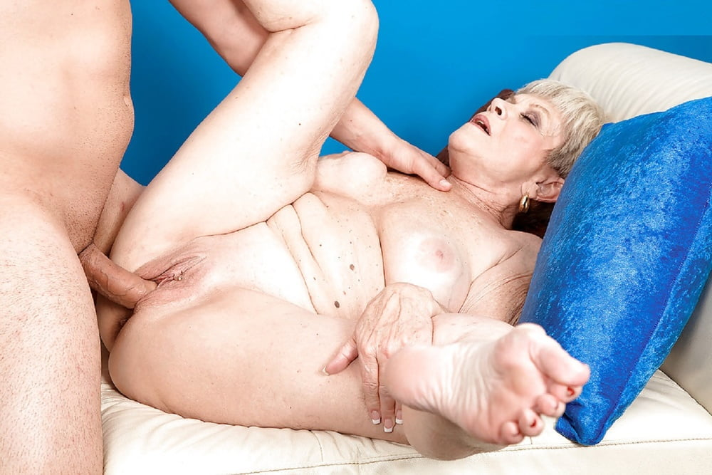 Sexy Sixtyish Granny Indulging Your Mature Foot Fetish