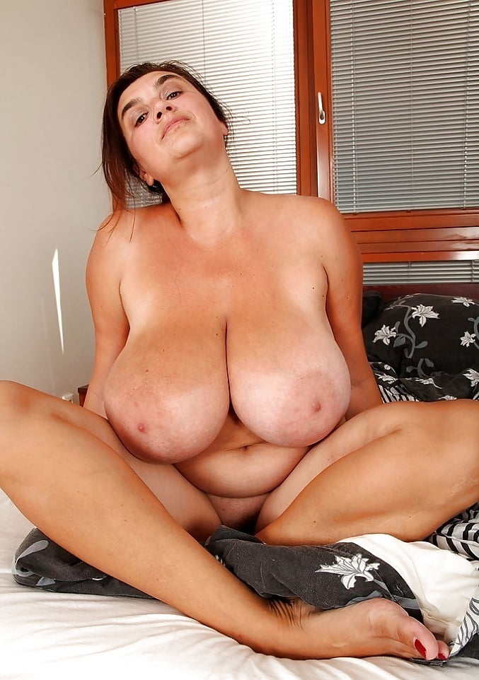 Mature titted, creamy sperm kacey