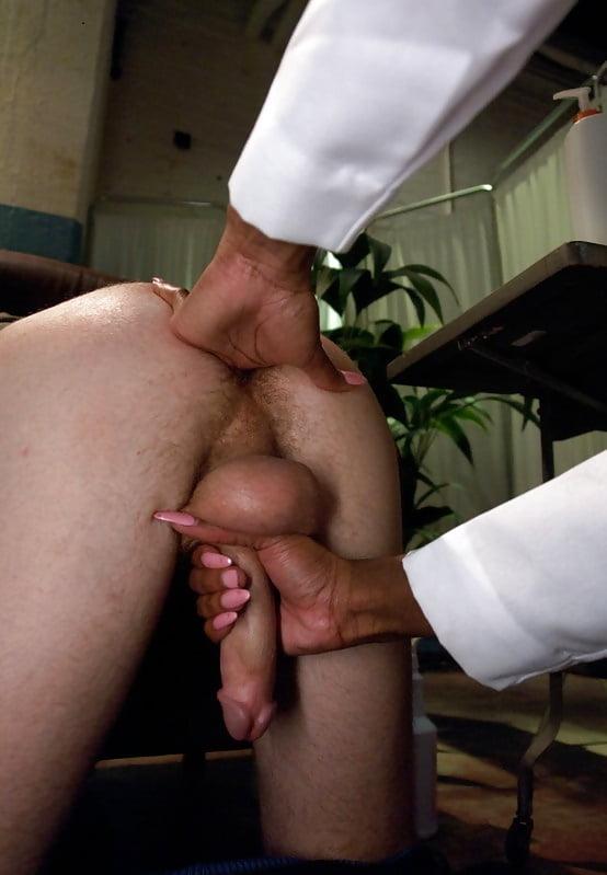 Fetish prostate milking