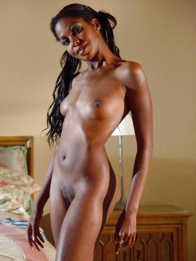 Free thin black naked girls #6