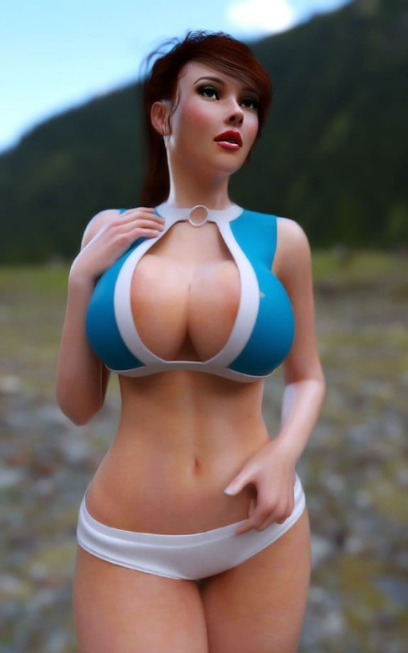 Huge anime tits-5305