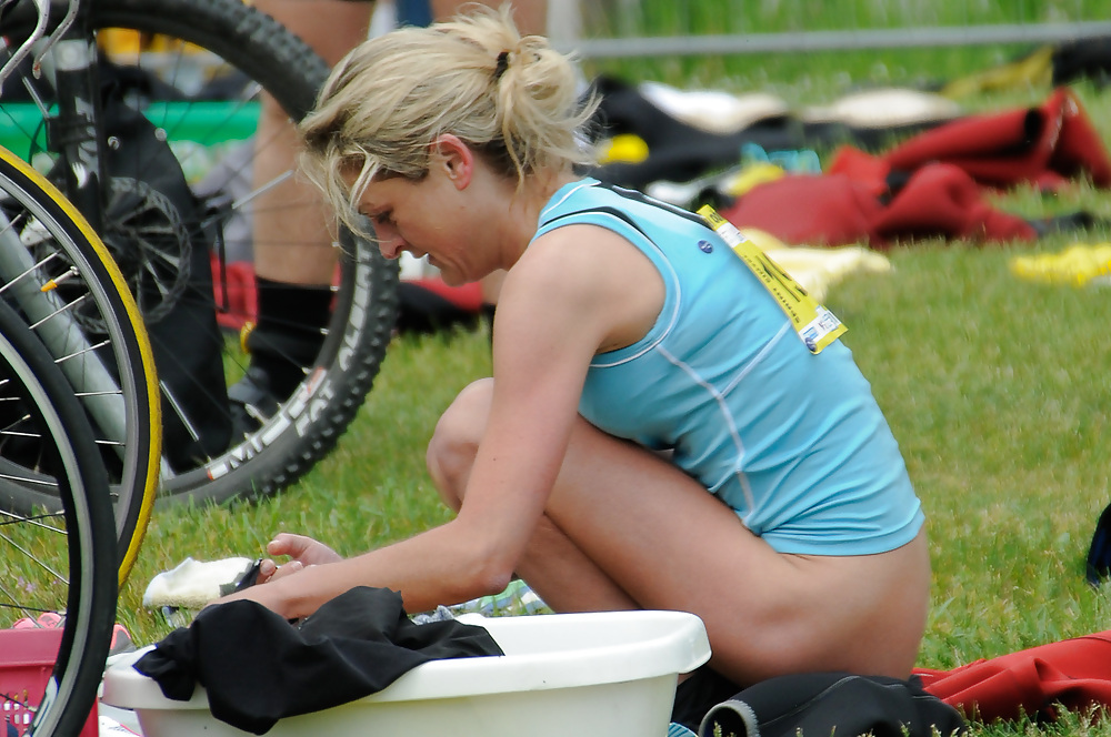 For triathlon naked fuck would like