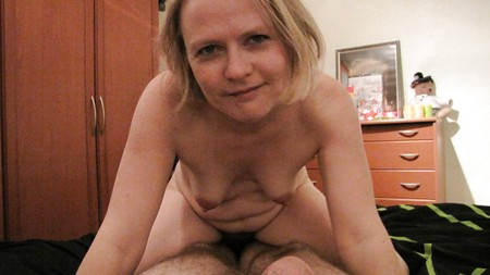 geile blondine