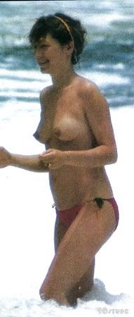 Nathalie Baye  nackt