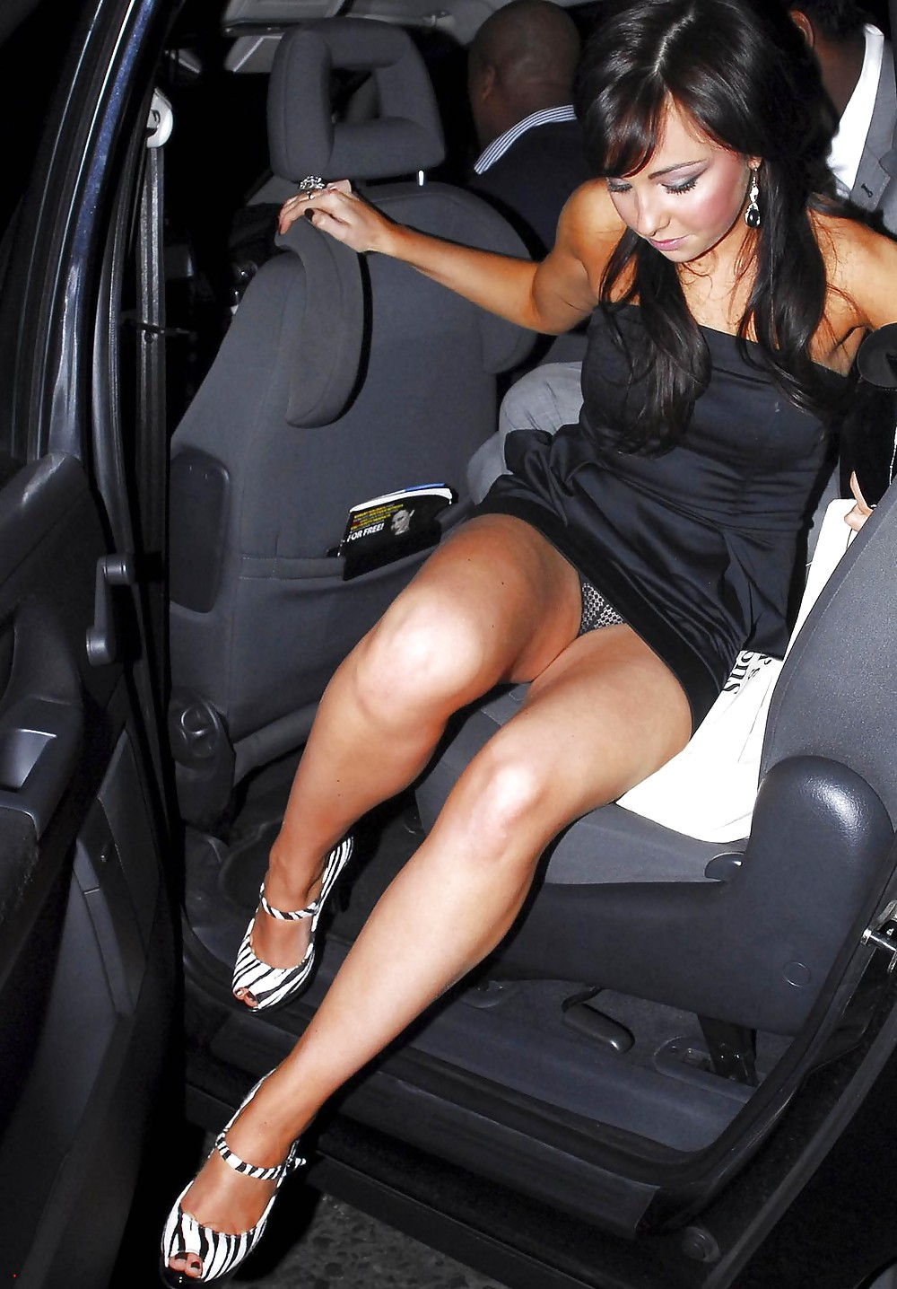 pic of Get out car upskirt