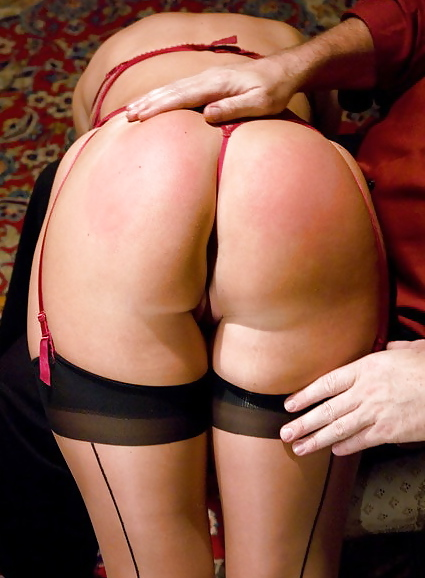 Spanking her big ass only made her hornier