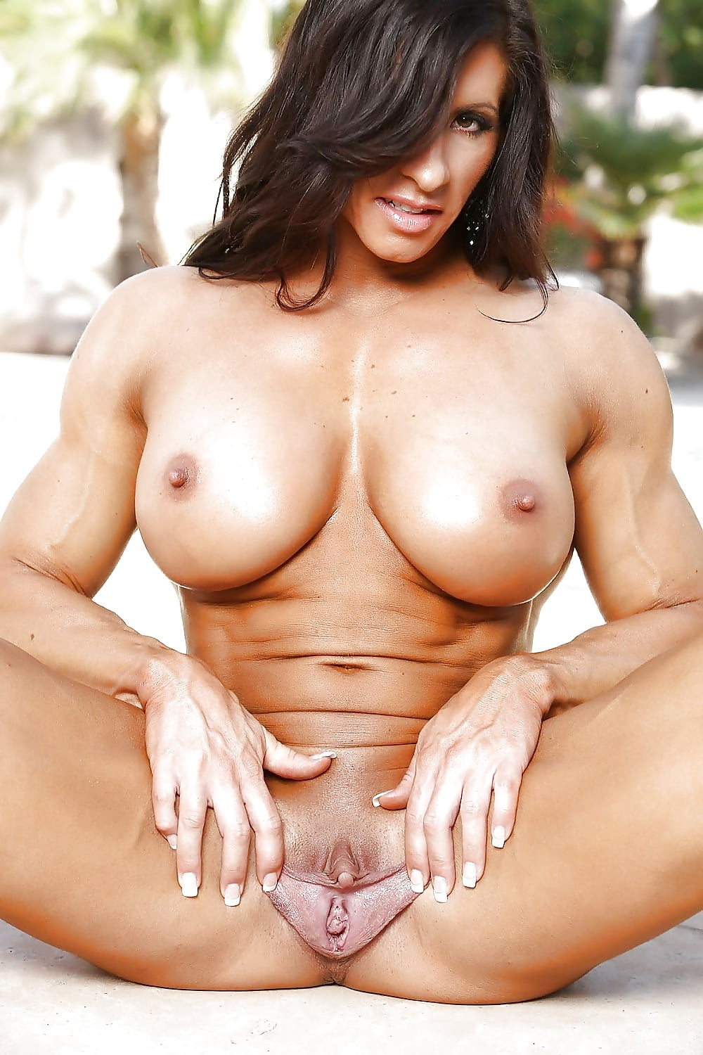 Female muscle cougar nipple and clit clamps, free porn galery