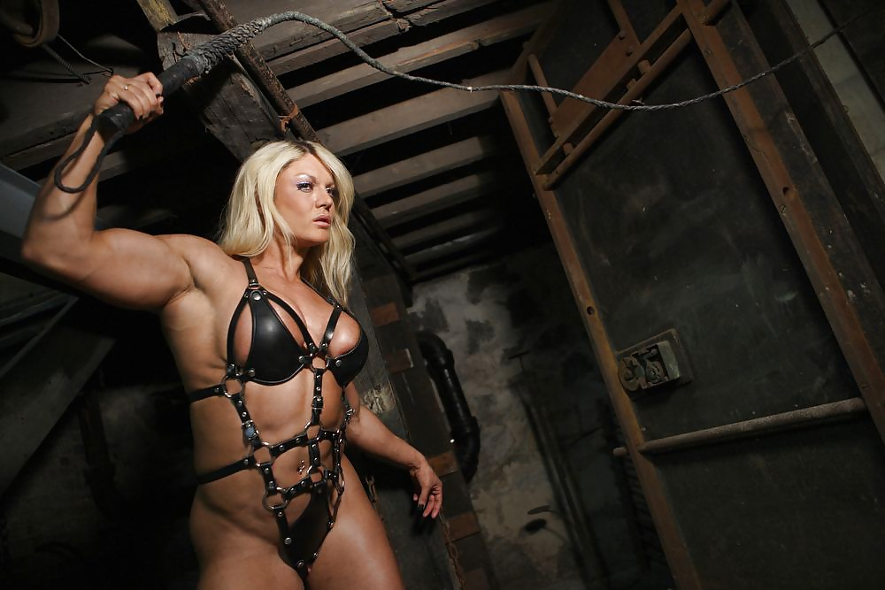 Body building women bondage