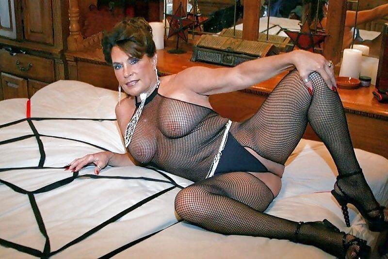 Sexy Costumes Fishnet Bodysuit Lingerie Crotchet Mesh Hollow