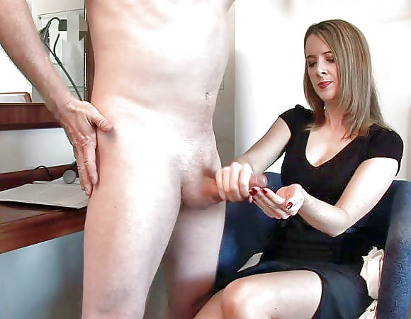Mai and mom watch jerk off porn pic