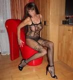 Hot amateur 50yo mature mom is horny